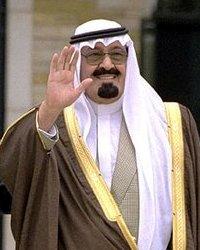 Abdullah, König von Saudi-Arabien, dem wichtigsten Verbündeten der USA im Nahen Osten