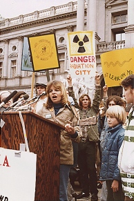 Anti-Atomkraft-Proteste in Harrisburg, 1979