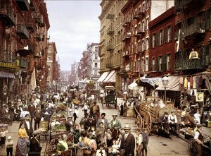 Multikulti in New York: Little Itlay um 1900