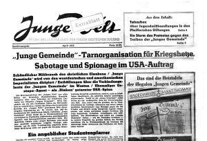 Die junge Welt zu DDR-Zeiten