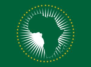 Die Flagge der Afrikanischen Union