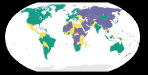 Die Weltkarte der Freiheit