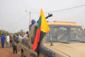 Ein Tuareg-Rebell in Nordmali