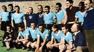 Die uruguayische Fußballnationalmannschaftbei der WM 1950