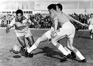 Garrincha war der überragende Spieler bei der WM 1962