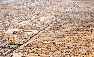 Das Flüchtlingslager Zaatari in Jordanien ist mittlerweile die viertgrößte Stadt des Landes