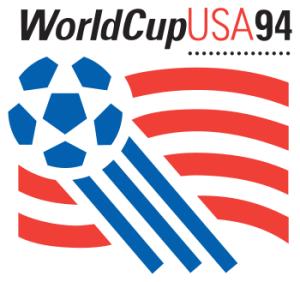 Das WM-Logo 1994